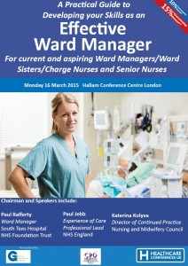 Ward Manager 2015 Cover