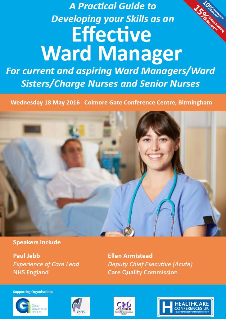 Effective Ward Manager Conference – Birmingham