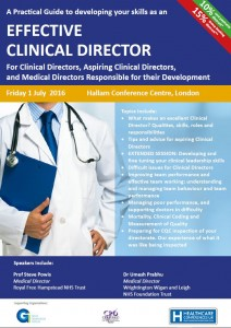 Effective Clinical Director 2016