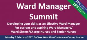 """Very, very valuable and informative "" – Ward Manager Summit"