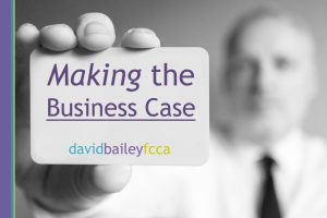 """David is an exceptional trainer. His Making the Business Case is worth the time investment. He is logical, convincing, authentic and an expert in the subject."" – Making the Business Case – Nottingham"