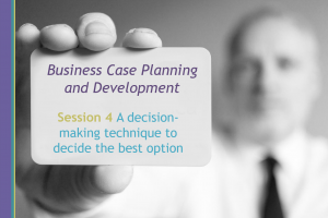 PrescQIPP – Business Case Planning and Development Webinar 4 of 4