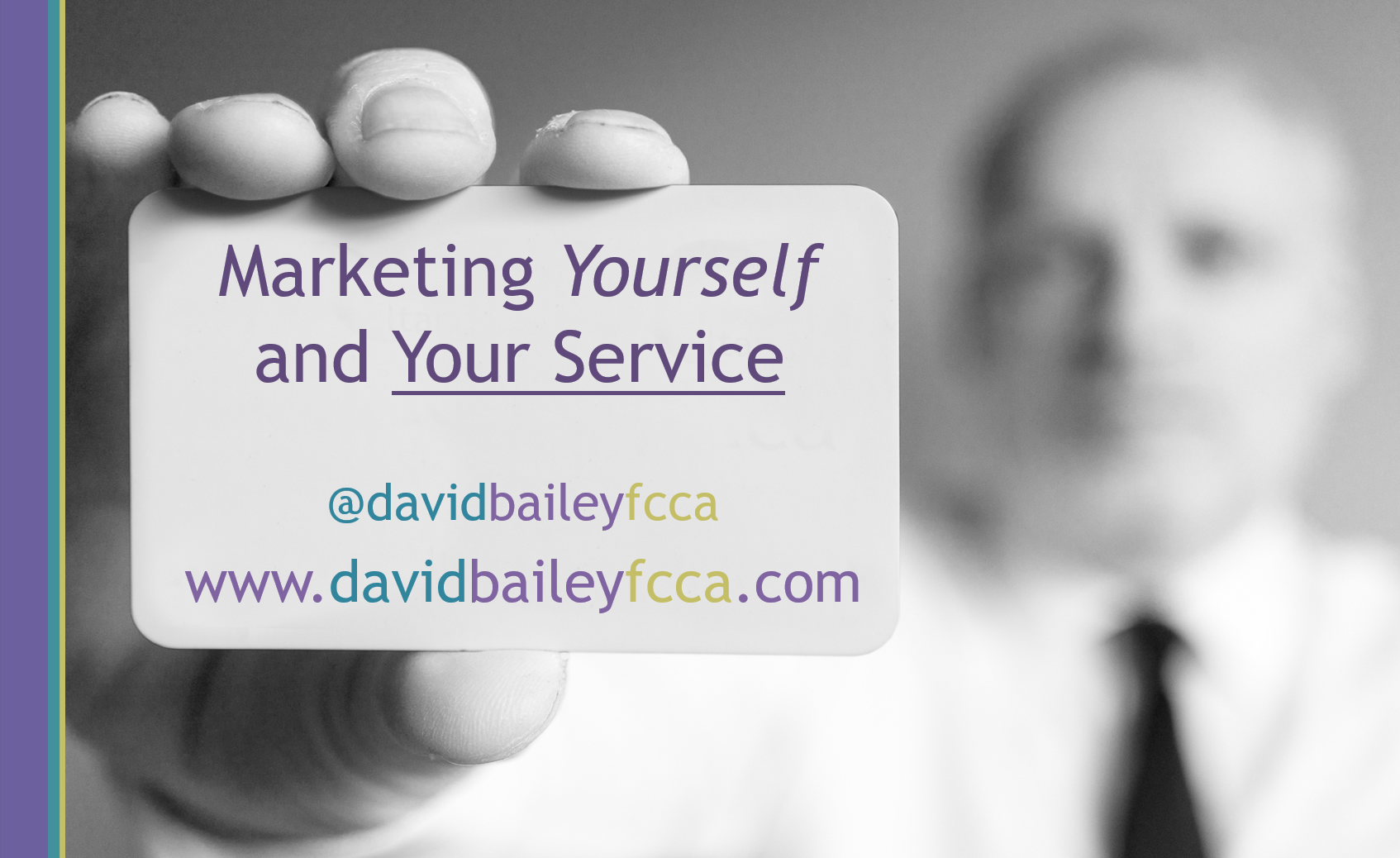 marketing yourself